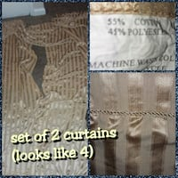 Curtains set of 2 Tulsa, 74112