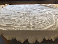 """Yellow table cover approx 70""""  Centereach"""