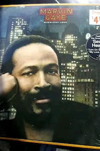 "Marvin Gaye ""Midnight Love"" vinyl album La Plata, 20646"