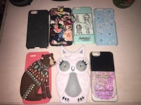 assorted color iPhone cases lot Peterborough, K9H 7B3