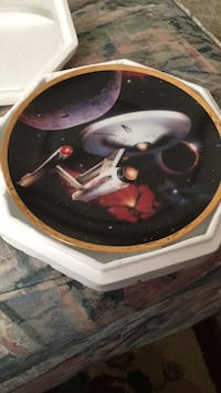 Star Trek plate the Hamilton collection  Greensboro, 27406