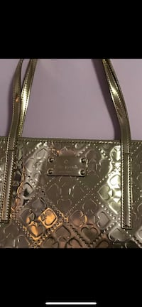 New authentic katespade golden bag  Mississauga, L5V 1R4