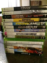 assorted Xbox 360 game cases Kingston, K7K 5A4