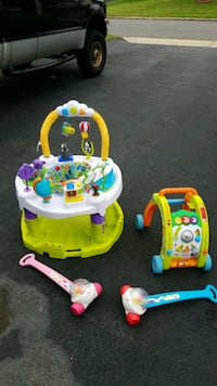 baby's three assorted activity walker Woodbridge, 22193