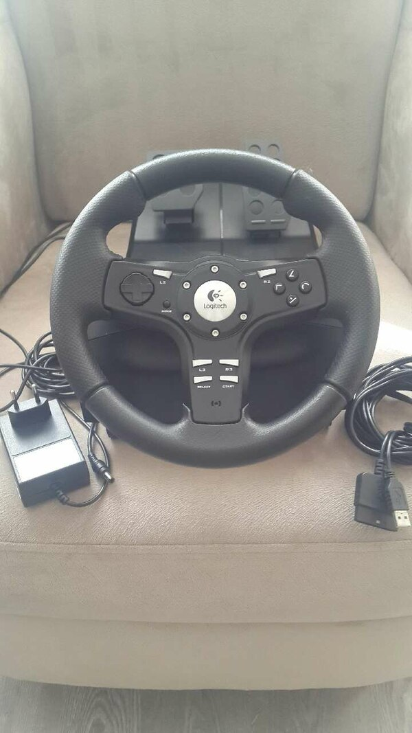 ec8bb8867a0 Used PS3 Direksiyon Logitech Driving Force EX for sale in İstanbul ...