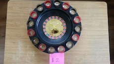 black and red Roulette board