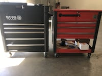 MACO TOOL BOX AND CORNWELL TOOL BOX BOTH FOR $1,350 PICK UP TODAY !  Ontario, 91764