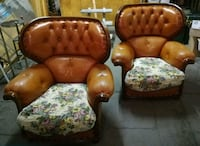 Coppia poltrone vintage Chesterfield  Grottaferrata, 00046