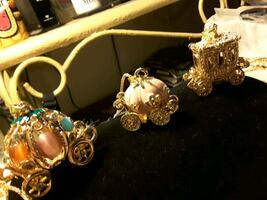 NECKLACES.     Sparkling Carriages by Betsey J
