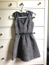 H&M grey with faux leather  Burlington, L7R 1T9