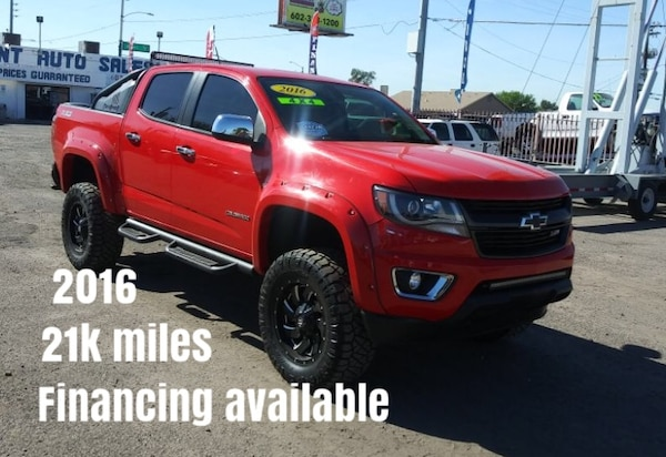 Lifted Chevy Colorado >> 2016 Chevrolet Colorado Lifted 4wd 4x4 Crew Cab Z71 Financing Available