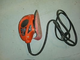Mouse sander with case