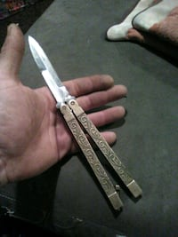 Gold butterfly knife  Gap, 17527