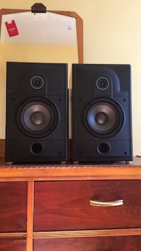 two black and brown speakers Trenton, K8V 3A2