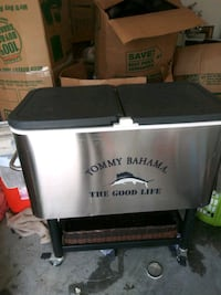 Stainless still cooler