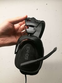 Gioteck EX 05 headphones microphone set games Bærum, 1366
