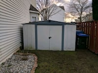 Aluminum Shed - Pre-Fab - 74.38 ft² Bristow