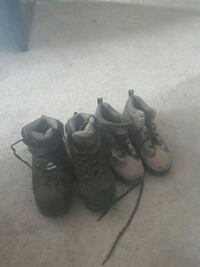 2 size 9 steel toe workboots Calgary, T3J 0A4