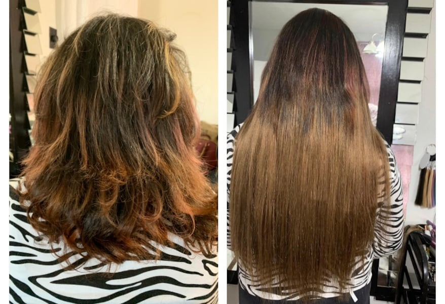 Hair extensions tap in or microbeads and Nail tip and Nano beads 88c5a606-8394-481e-95e5-ae3d2ce8706a