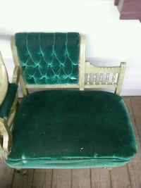 green and white fabric sofa Wilkes-Barre