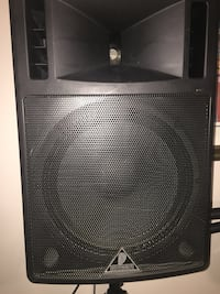 Behringer speakers with stands Edmonton, T5A 1X4