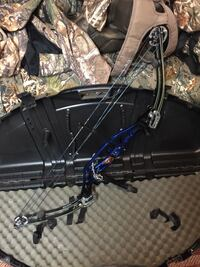 black and blue compound bow Mohrsville, 19541