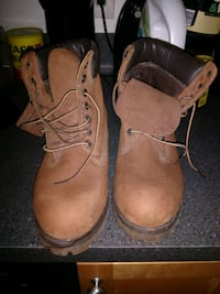 Timberland boots size 8 Watertown, 02472