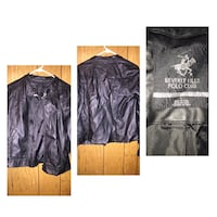 Females Beverly Hills polo cute waist length leather jacket size l Summerville, 29485