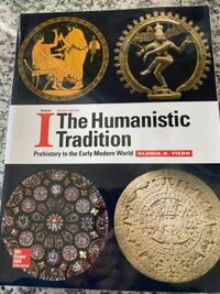 The Humanistic Tradition Text book (paperback)
