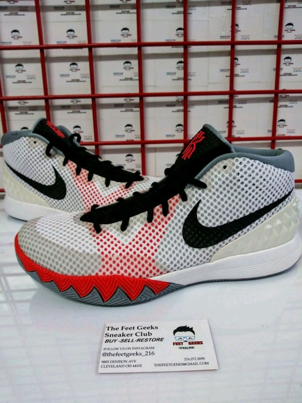 e36eed80e2f1f0 Used Nike Infrared Kyrie Irving I Men s Shoes Size 11 for sale in ...
