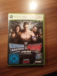 Smack Down VS Raw 2010 Xbox 360 Spiel Fall
