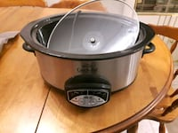 black and gray Crock-Pot slow cooker Edmonton, T5S 2V8