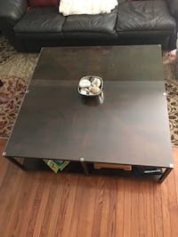 Large Contemporary Espresso Cocktail table Herndon, 20171