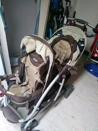 baby's gray and white travel system York, 17401