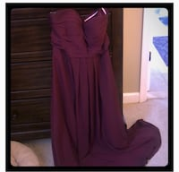 Bill Levkoff Wine colored bridesmaid dress Woodbridge, 22192