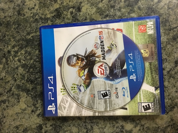 1d501261b53 Used ps4 madden 15 game for sale in Concord - letgo
