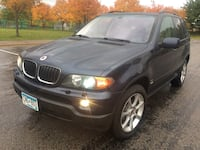 2005 BMW X5 AWD panoramic sunroof, heated leather, heated steering, sunroof, cd auxiliary cord, Bluetooth, tow package, 198k miles, 2020 tabs Little Canada