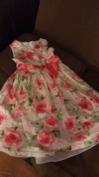 girl's white and pink floral sleeveless dress Damascus, 20872