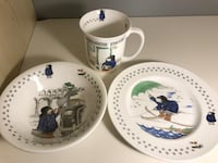 Coalport Paddington Bear 3 piece bone china set Arlington