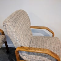 Chairs-upholstered on casters Livonia