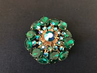 Beautiful Vintage colored stone Brooch Gaithersburg