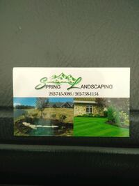 Landscaping!