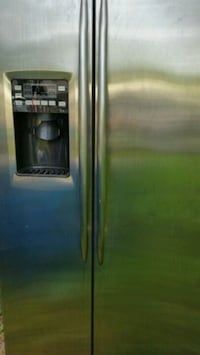 stainless steel side-by-side refrigerator with dispenser Lincolnia, 22312