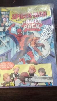 Marvel Spider-Man and Power Pack comic book