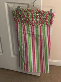Adorable seersucker lily pulitzer dress- size 0! Germantown