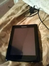 black tablet computer with charger Hyattsville, 20784