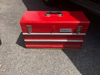 red and black Craftsman tool chest Toronto, M6E 1Y2