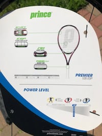 Prince Tennis Racquet and Bag Frederick, 21701