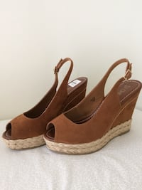 BROWN  WEDGE  HEEL