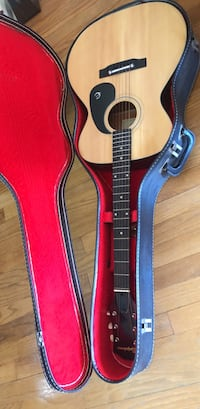 Epiphone guitar and case